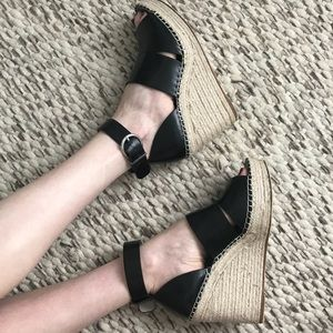Zara Wedge Espadrille Sandals